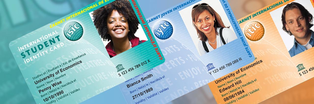 Международные карты ISIC/IYTC/ITIC